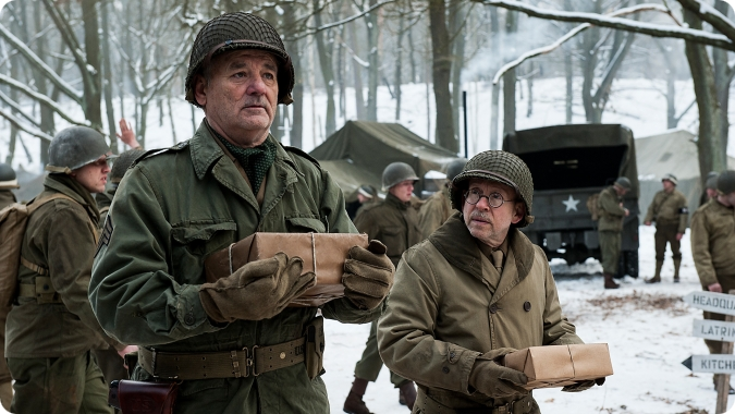 Review The Monuments Men