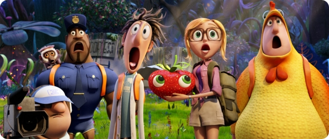 Cloudy with a chance of meatballs 2 recensie