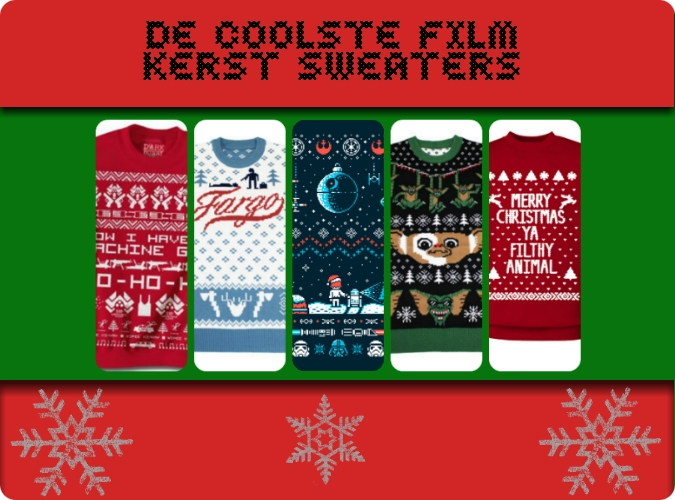 Coole kerst sweaters film