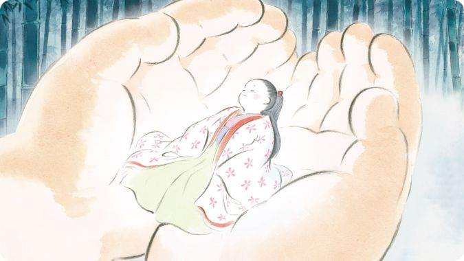 Review Tale of Princess Kaguya