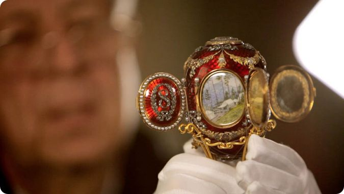 Bespreking  Faberge A Life of its own