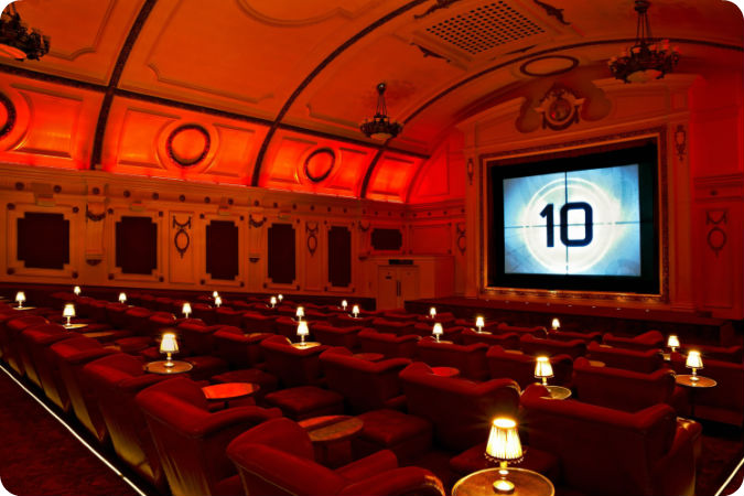 Electric cinema zaal