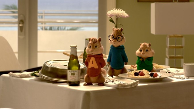 Recensie Alvin and the chipmunks roadchip