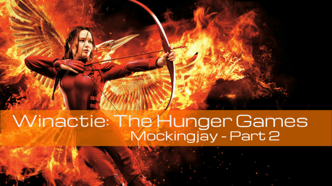 Winactie Hunger Games Mockingjay part2