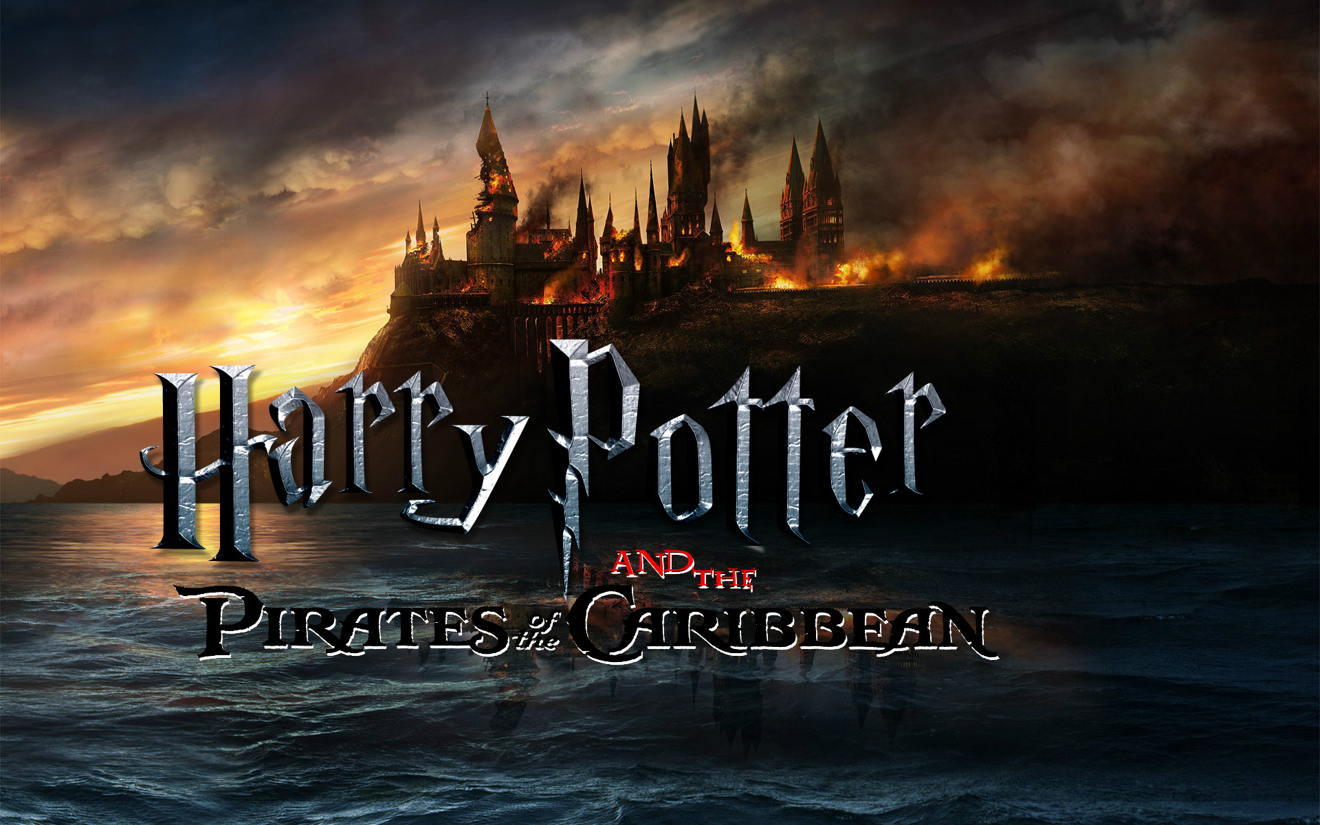 Harry Potter and the Pirates of the Carribean