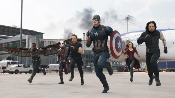Review Captain America Civil War