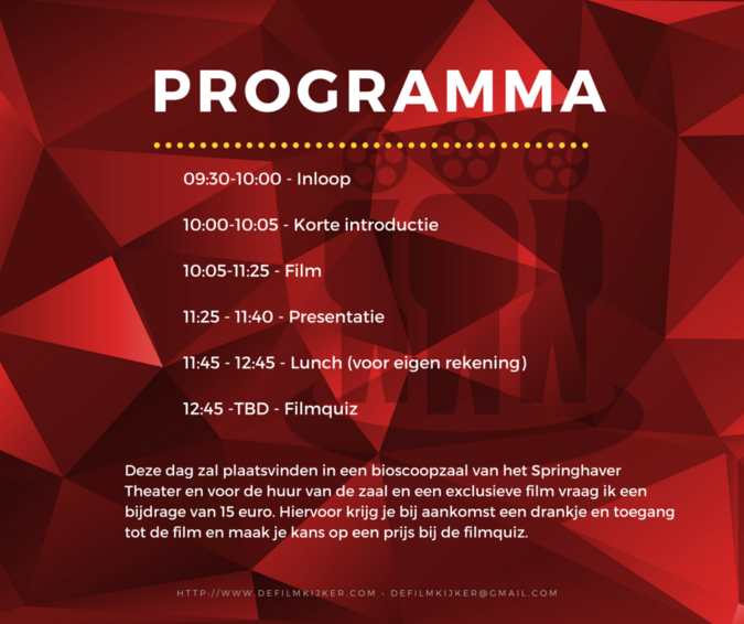 Programma Filmblog Get Together