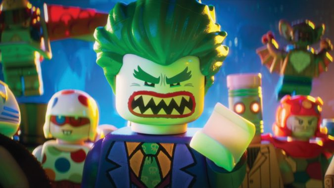 Review The Lego Batman movie