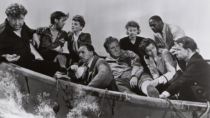 beste Hitchcock film, lifeboat