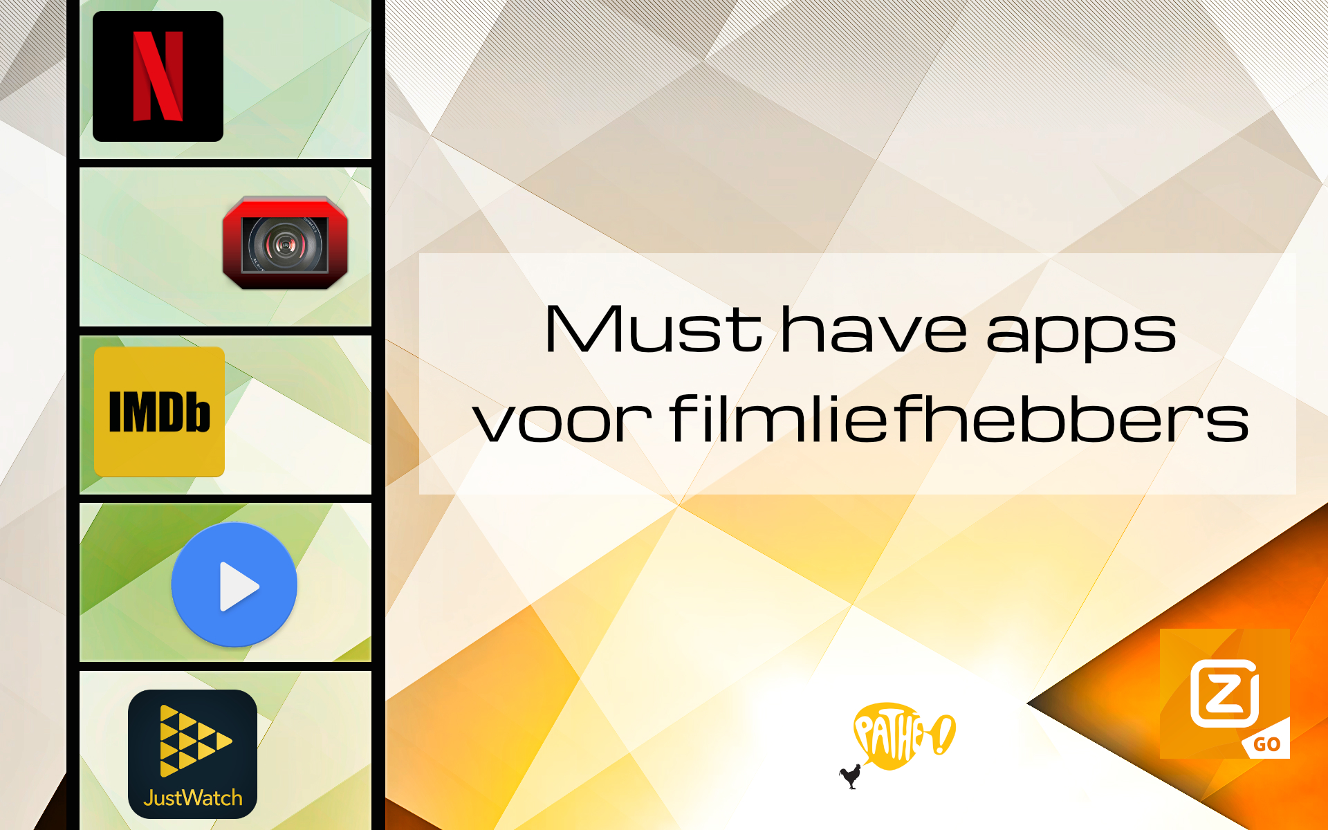 Must have apps voor films filmliefhebber