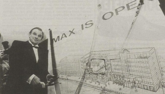 Opening Imax Leuvehaven