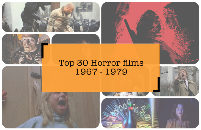 Top 30 beste Horrorfilms ooit