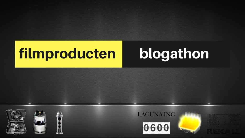 Filmproducten Blogathon
